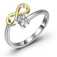 Sterling Silver Opening Ring
