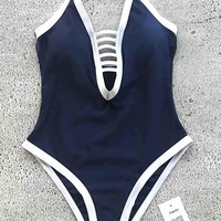 Cupshe Dream Of The Late Strappy One-piece Swimsuit