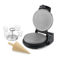 Chef's Choice Waffle Cone Maker and Holder Gift Set