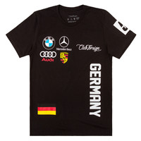 Club Foreign T-Shirt Germany Series in Black