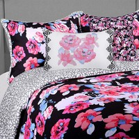 Blink Ryder Comforter Set in Black