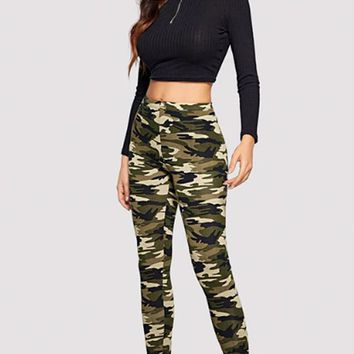 Ft. Bragg Camo Leggings