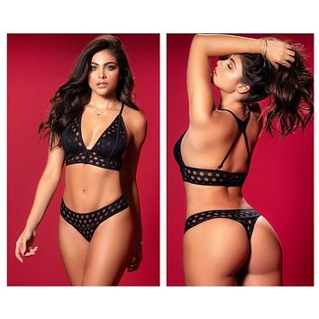 Mapale 2629 Two Piece Set Color Black