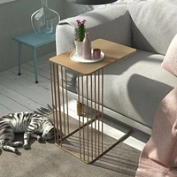 Nordic Emily End Iron Metal Side Table