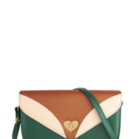 ModCloth Colorblocking Heart of that World Bag
