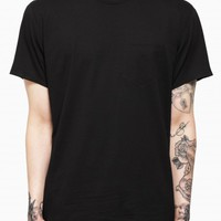 T-shirt from F/W2015-16 T by Alexander Wang collection in black