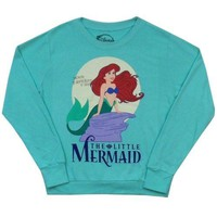 The Little Mermaid Classic Ariel Disney French Terry Junior Sweater