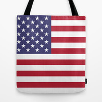"The national flag of the USA - Authentic Scale ""G-spec"" 10:19 and authentic colors. Tote Bag by LonestarDesigns2020 - Flags Designs +"