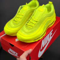HCXX 19July 675 Nike Air Max Plus Tn Ultra Retro Max 97 Cushioning sneakers Fluorescent green