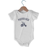 Puerto Rico City Tricycle Infant Onesuit