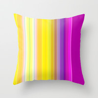 the essence of summer - lemon ice Throw Pillow by artbylouis