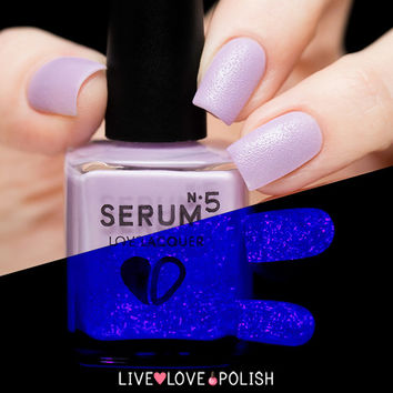 Serum No. 5 Laven-Daringly Bright Nail Polish