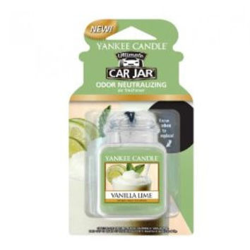 Vanilla Lime Scent Car Gel Jar by Yankee Candle