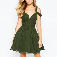 Forever Unique Sweetheart Mini Dress at asos.com