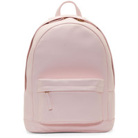 Pb 0110 Rose Pink Matte Leather Small Backpack