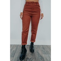 Tight Schedule Pants: Rust