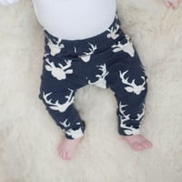 Baby Leggings - Stag Leggings - Baby clothing - Baby Clothes - Unisex Baby - Baby Pants - Girls Clothing - Boys Clothes - Printed Leggings