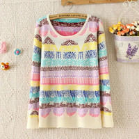 Autumn and Winter Women Sweater and Pullover Women Poncho Knitting Sweater Women 2015 #FW010