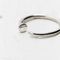 Nail Ring in Silver - Urban Outfitters