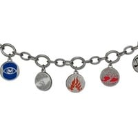 "Divergent Movie ""Factions"" Charm Bracelet"