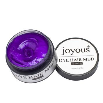 New Arrival 5 Colors Available Fashion One-time Hair Colored Hair Mud dye Styling Cream Hair Temporary Dye Cream  #AP5M3