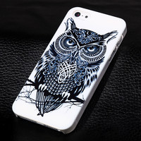 Owl phone case for iphone 5 5s SE + Nice gift box 072702