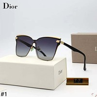 DIOR 2018 new trend personality female models wild polarized color film sunglasses #1