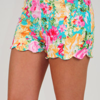 Garden Wishes Shorts: Multi