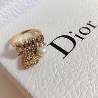 Christian Dior Woman Fashion Accessories Fine Jewelry Ring & Chain Necklace & Earrings