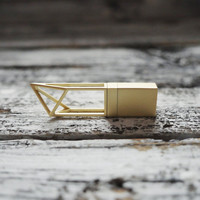 Gold 8GB USB Flash Drive, for wedding photographers, for box packaging