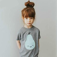 Kids Girls T-Shirts Baby Boys With Short Sleeve Top Tee Cotton T-Shirts for Girls Cartoon Kids Baby T-Shirts