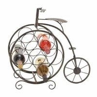 Metal Wine Rack 19 Inches High Style Statement