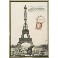 """Paragon Paris 1900 by Unknown Architecturals Art - 38"""" x 27"""" - 7443 - All Wall Art - Wall Art & Coverings - Decor"""