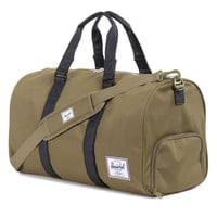 Herschel Supply Co.: Novel Duffle Bag - Army / Black PU
