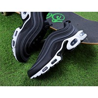 Nike Air Max Plus 97 TN Black/Anthracite White Sneakers Trainers AH8143-001