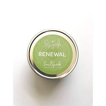 A Spark of Renewal Candle