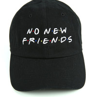 The Friends Dad Hat in Black