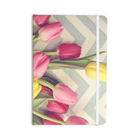 """Catherine McDonald """"Tulips and Chevrons"""" Everything Notebook"""