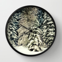 Warm Inside Wall Clock by Tordis Kayma