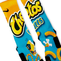 Cheetos Puffs Custom Nike Elite Socks