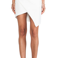 Cameo Window Blues Skirt in Ivory