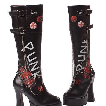 Knee High PUNK Boot 557