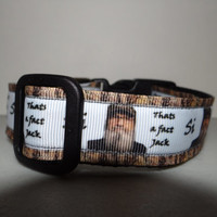 DUCK DYnASTY InSpiRed Adjustable Buckle Dog Collar OR Martingale Collar* That's A Fact Jack*