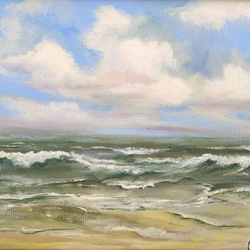 Small Seascape Painting