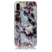 Newest Mobile phone case cover For Apple iPhone X Hot sale Marble TPU Printed Painting Pattern Phone Cases For Apple iPhone X
