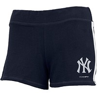 New York Yankees - Logo Girls Juvy Athletic Shorts