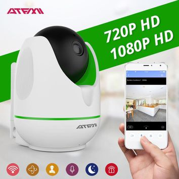 ATFMI 1MP 2MP HD Wireless IP Camera Wifi Night Vision Network Indoor Monitor
