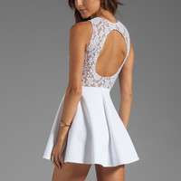 Boulee Avery Tank Dress in White Lace from REVOLVEclothing.com