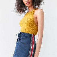 Silence + Noise Avril Lace-Up Mini Skirt | Urban Outfitters
