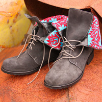 sweet virginia lace up boots | gypsyville